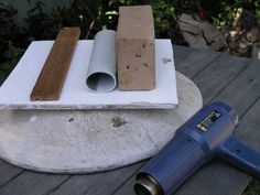 DIY oval soap mold from PVC pipe