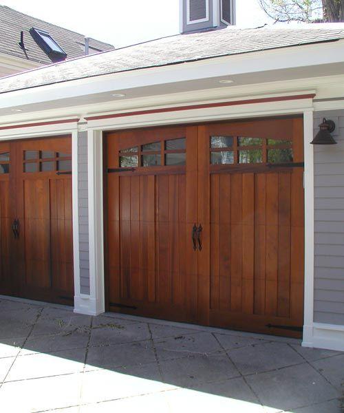 Custom Wood Garage Doors Carriage House Doors Garage Doors