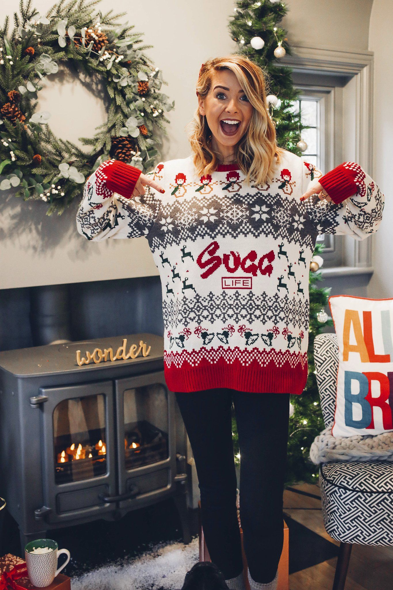Christmas Jumper | Wishlist in 2018 | Pinterest | Sugg life, Zoella ...