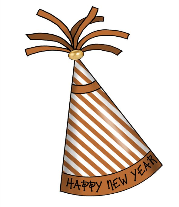 artbyjean blog clipart happy new year party hats free crafty clipart prints for your