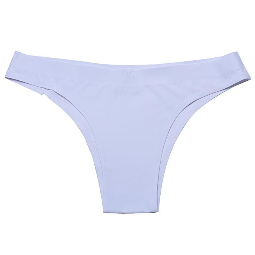 Women Invisible Sexy Underwear Cotton Spandex Seamless Panties ...