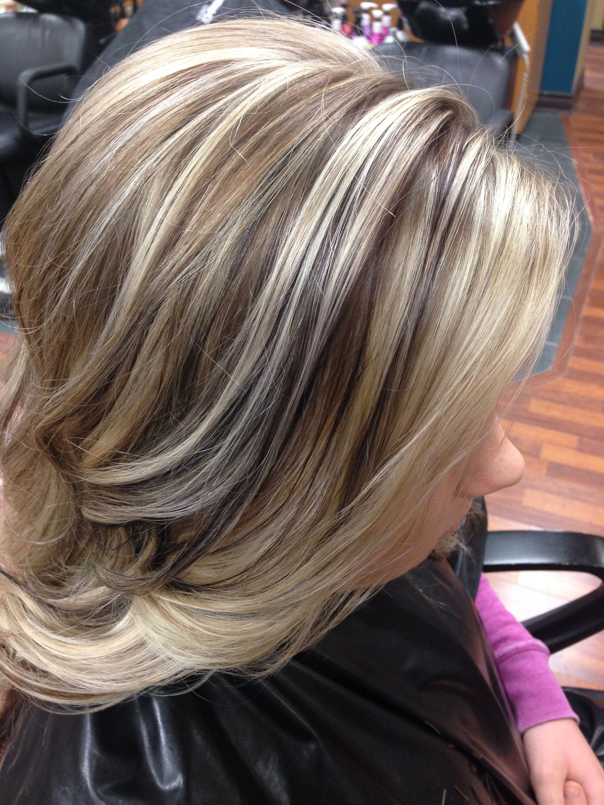 Dimensional Blonde Highlights Hair Portfolio In 2019