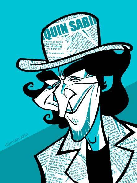 Joaquin Sabina Ciento Volando De Catorce Pesquisa Google Joaquin Sabina Juaquin Sabina Caricaturas