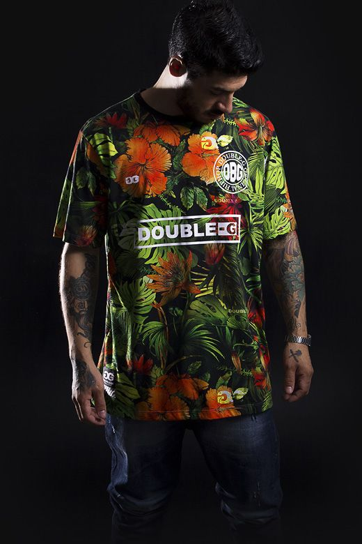 530a1267c8 Camiseta Double-G Prime - Floral S2