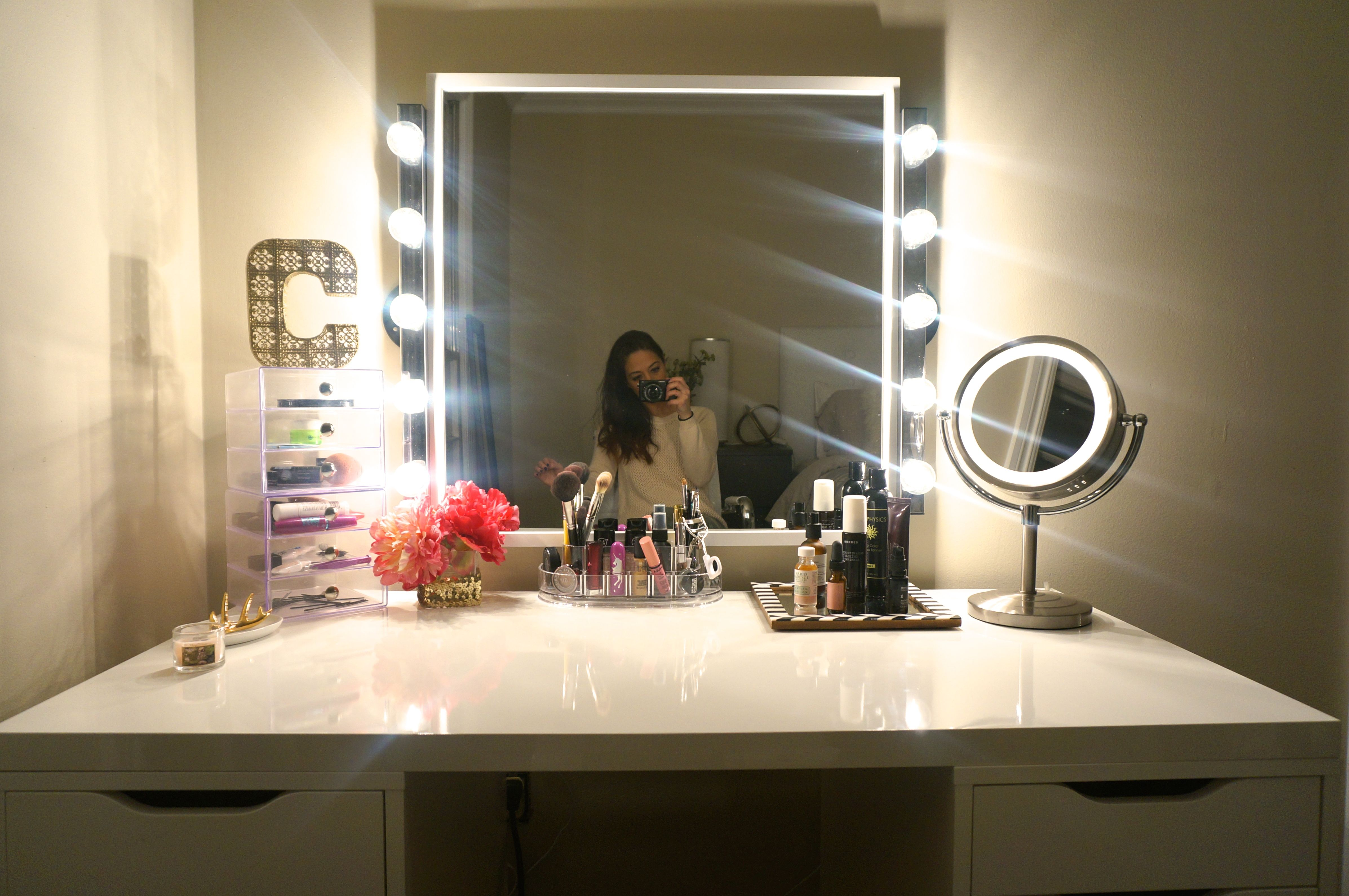 Gut DIY Makeup Vanity @ Made2Style Wohnen, Selbstgemachter Make Up Waschtisch, Make  Up Eitelkeits