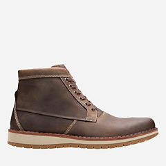 29a1ef9be Varby Top Tan Leather - Men s Casual Boots - Clarks® Shoes Official Site