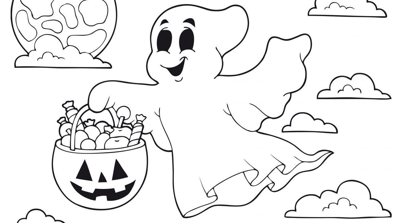 Dibujos de Halloween para colorear   Halloween para colorear ...
