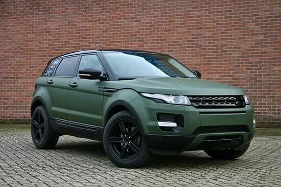 Range Rover Evoque Matt Military 改装 Svr