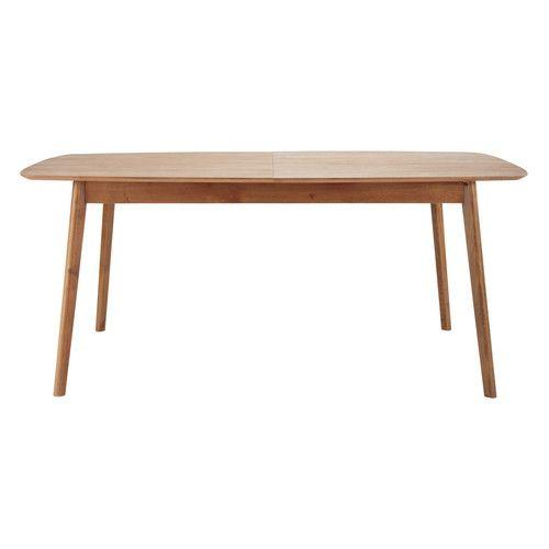 Mesa de comedor vintage de roble macizo An. 180 cm | · Mobles ...