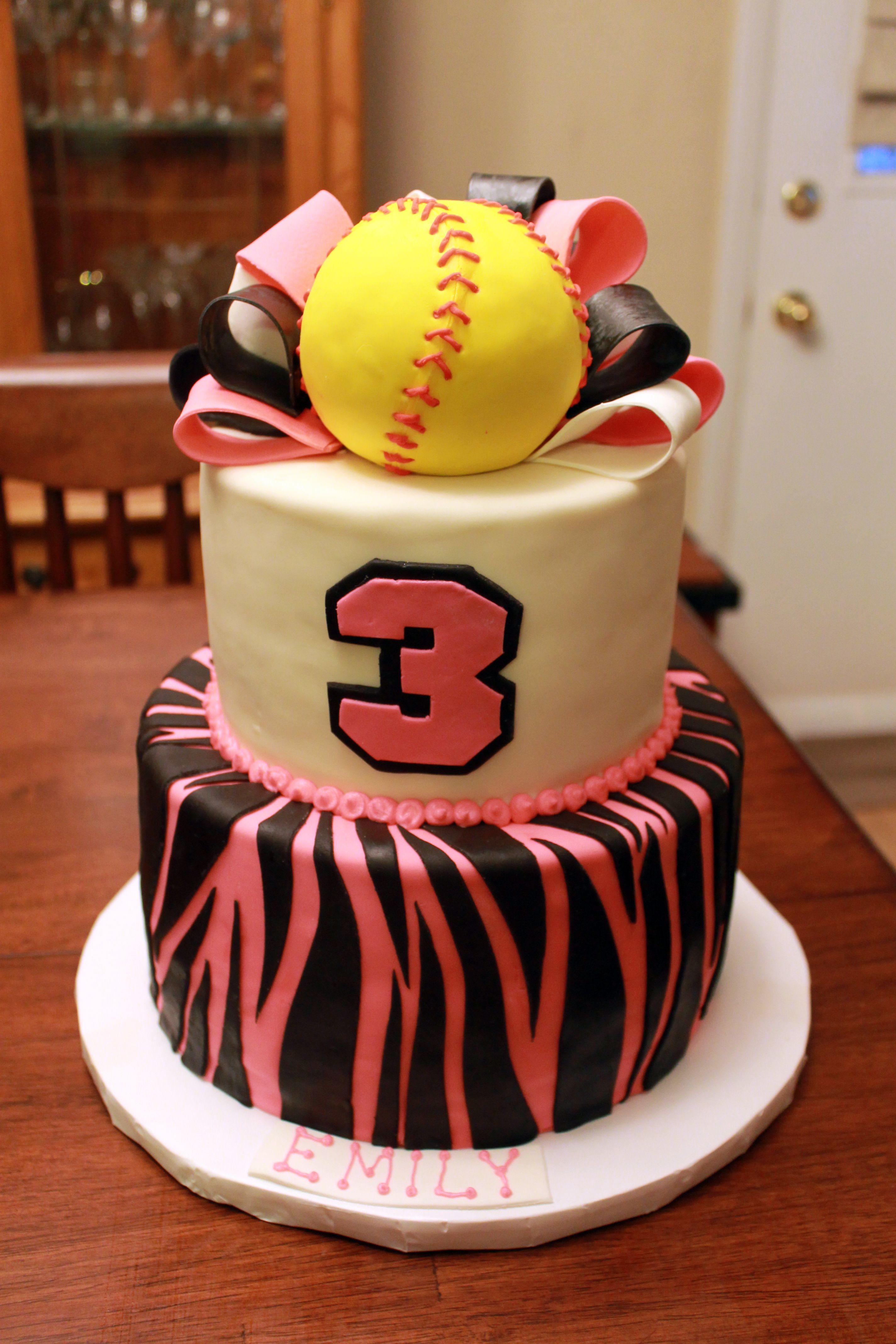 Softball cake cake piece of cakes softball birthday cakes