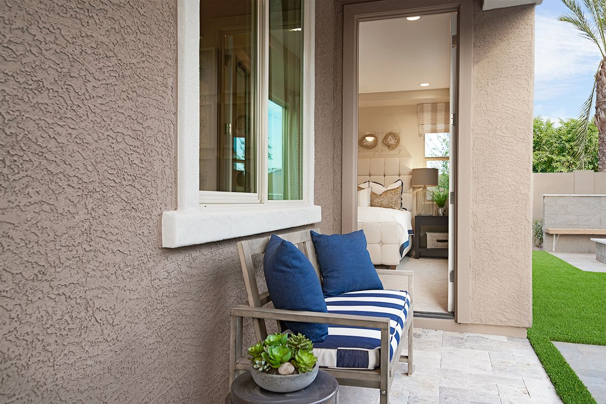Patio Access From A Lavish Master Suite Augusta Model