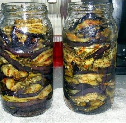 Жареные баклажаны на зиму | Рецепт | Жареные баклажаны ...