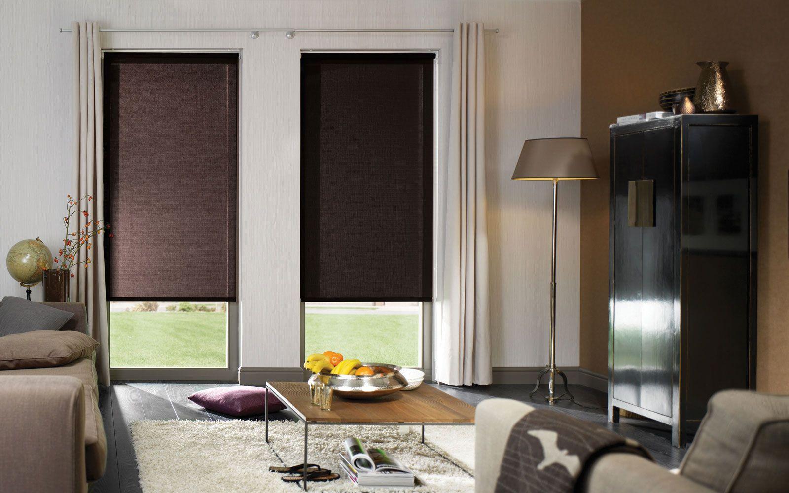 Blackout Bedroom Blinds Custom Classic Sleek Grey Ikea Blackout Blinds For Clean Modern Living Decorating Inspiration