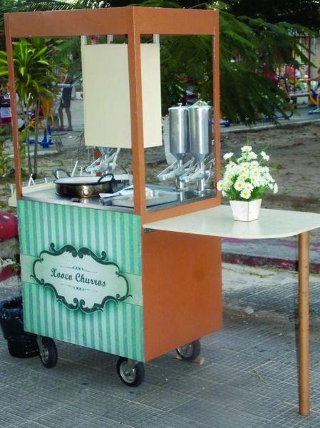 Carrinho Com 100 Churros Gourmet Para Eventos Carrinho Que Vende