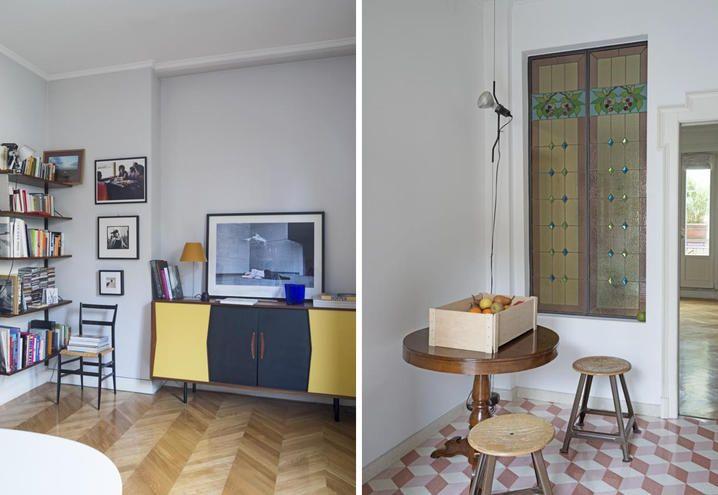 appartamento-milano-mobili-modernariato-sala-e-cucina | Interior ...