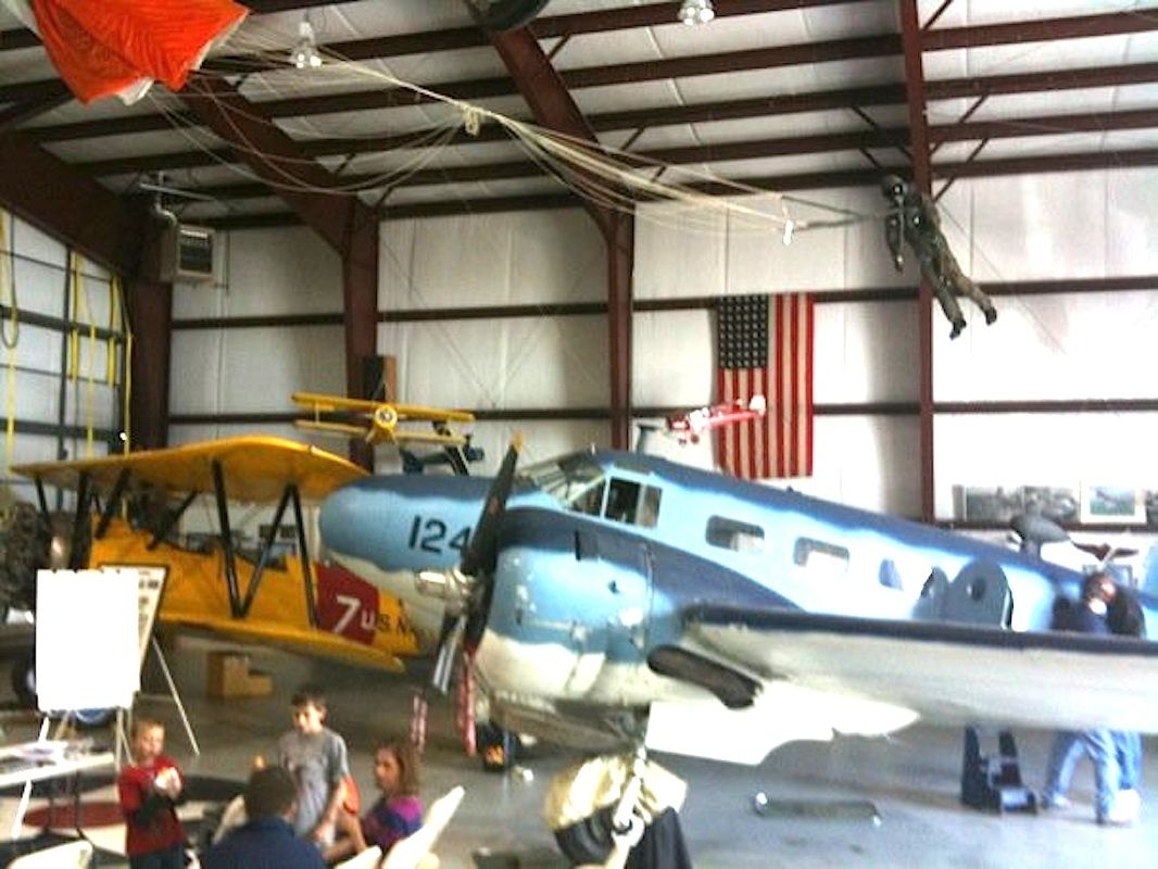 commemorative air force museum at the Heber airport open