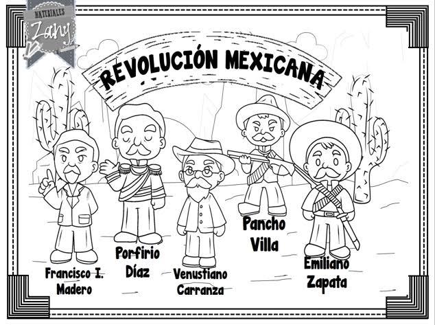 Revolucion Mexicana Dibujos Google Search Revolucion Mexicana Revolucion Mexicana Dibujos Revolucion Mexicana Para Colorear