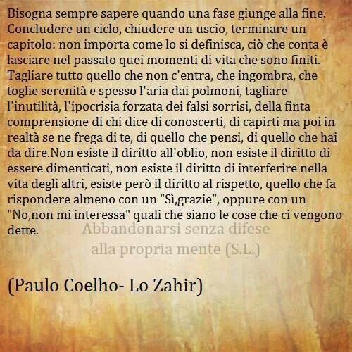 Paulo Coelho Citazioni Citazioni Sagge Citazioni Casuali
