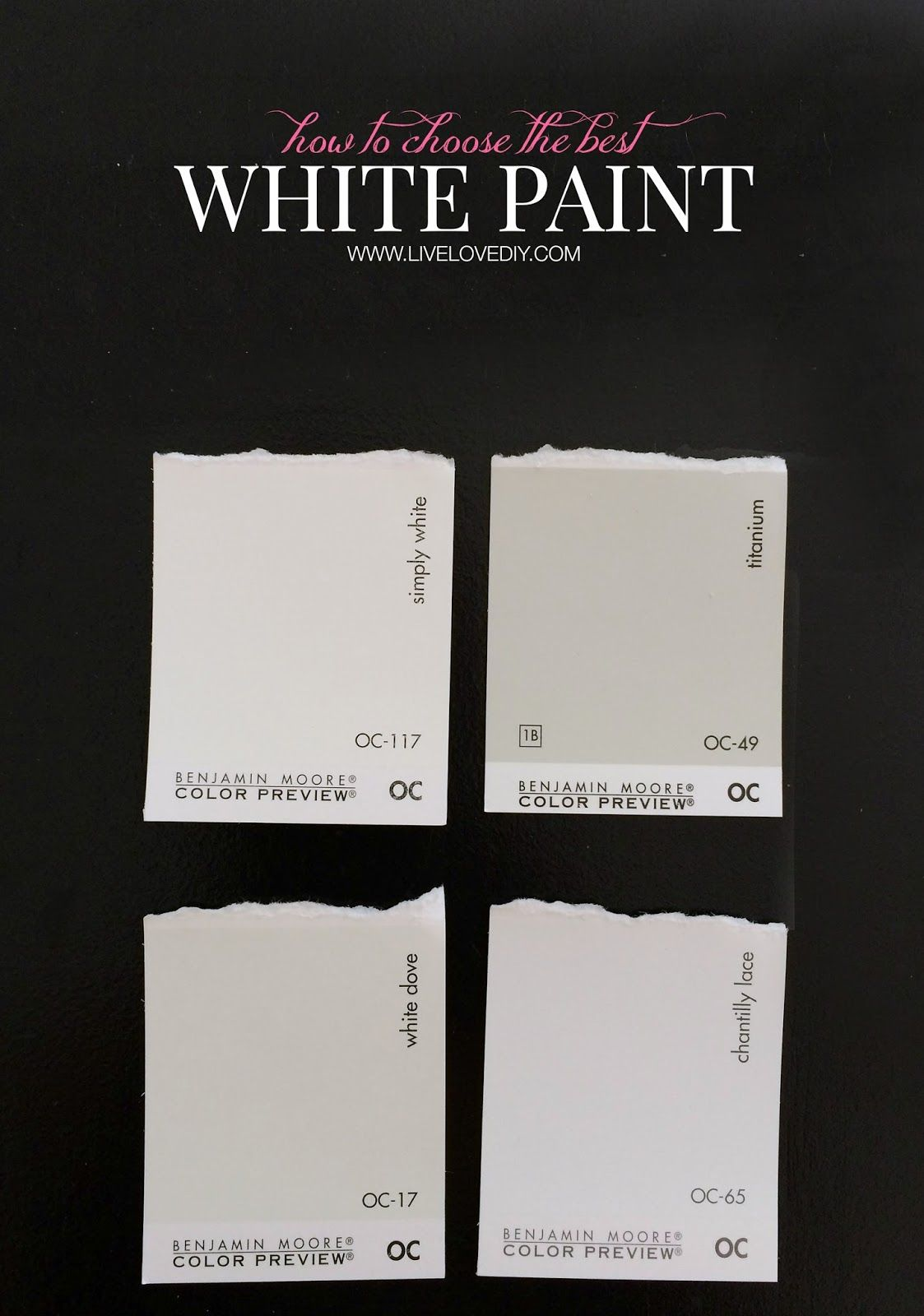 How to choose a paint color whites color palettes pinterest Pick paint colors