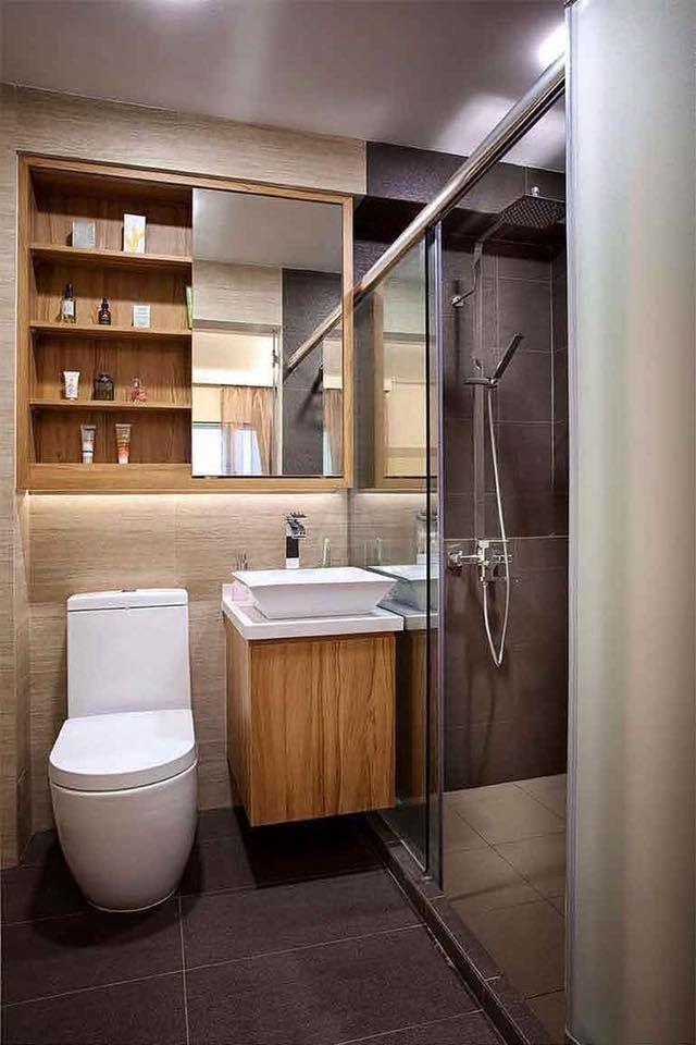 17 ideas para organizar exitosamente un baño pequeño en ...