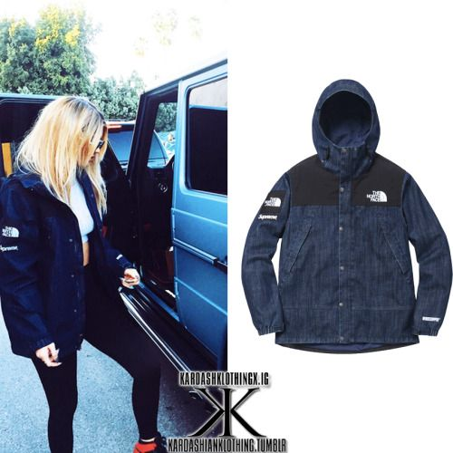 dc73edb5b Kylie Jenner | InstagramKylie wore a Supreme x The North Face 'Denim ...