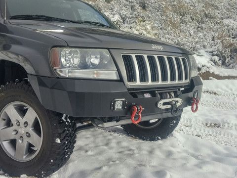 Hk Overland Recessed Winch Bumper Jeep Wj Winch Bumpers Jeep