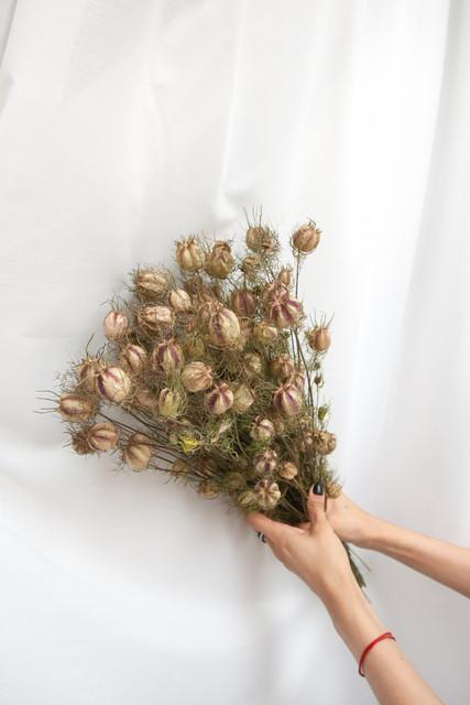 Bukiet Czarnuszka Suszone Kwiaty Susz Florystyczny Suszone Rosliny Awai Inspired By Nature Flowers Holiday Decor Decor