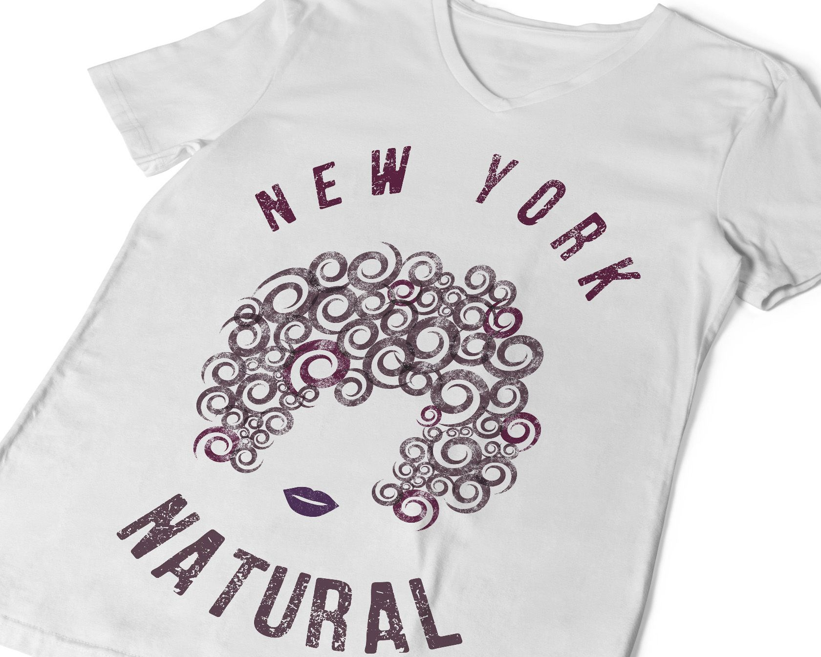 073711446 Natural Hair T-shirt Choose Your City or State Distressed Tee Custom ...