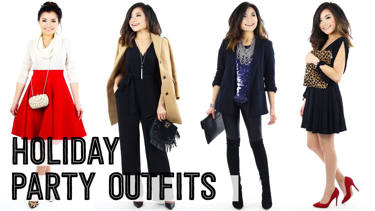 2015 holiday christmas party outfit ideas lookbook | casual winter