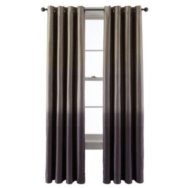 Studio Dylan Ombre Grommet Top Curtain Panel Found At Jcpenney