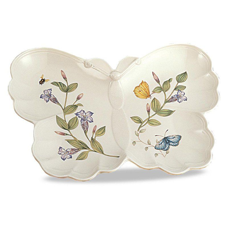 Lenox Butterfly Meadow Hors Doevres Plate - 6116941