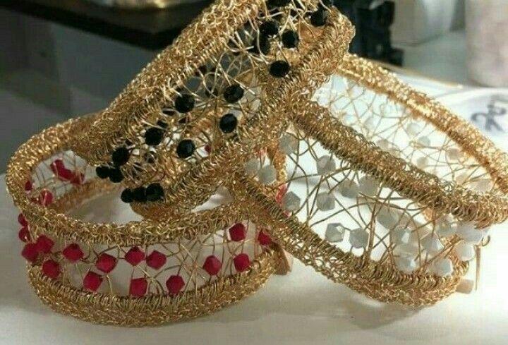 Pin von Luminita Elena auf wire crochet jewelry   Pinterest ...