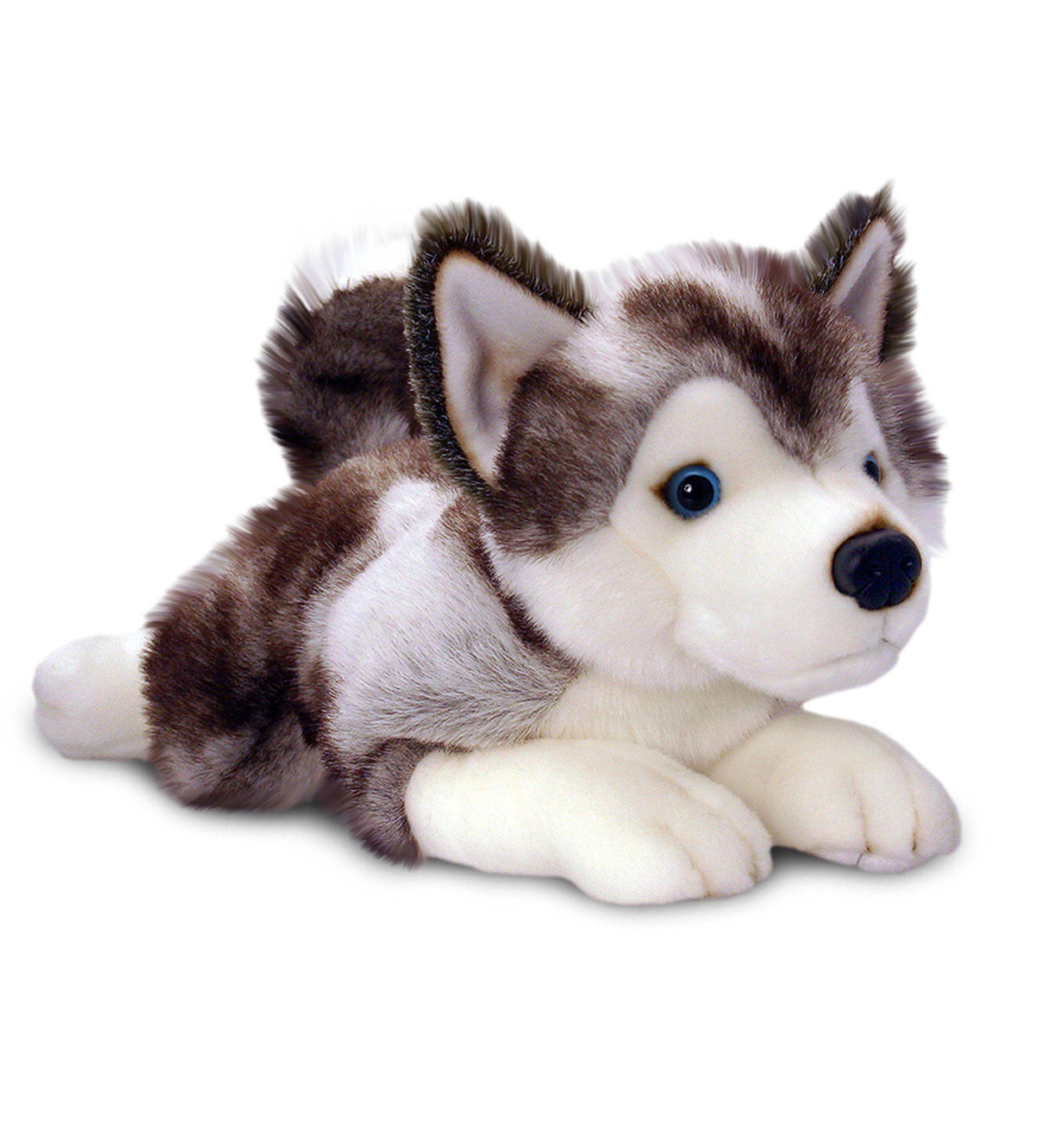 storm the husky dog toy 35cm keel toys plush cuddly soft toy amazon