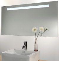 Badkamerspiegel met LED verlichting en verwarming - Badkamer ...
