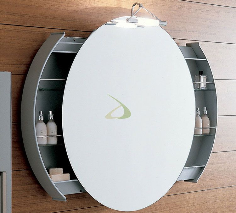 specchio per bagno dal design moderno n43