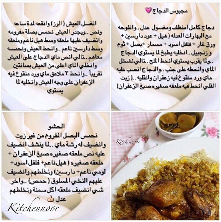 Pin On المطبخ بالعربي
