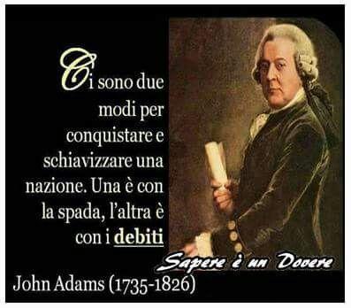 Schiavizzare una nazione: spada e debiti.