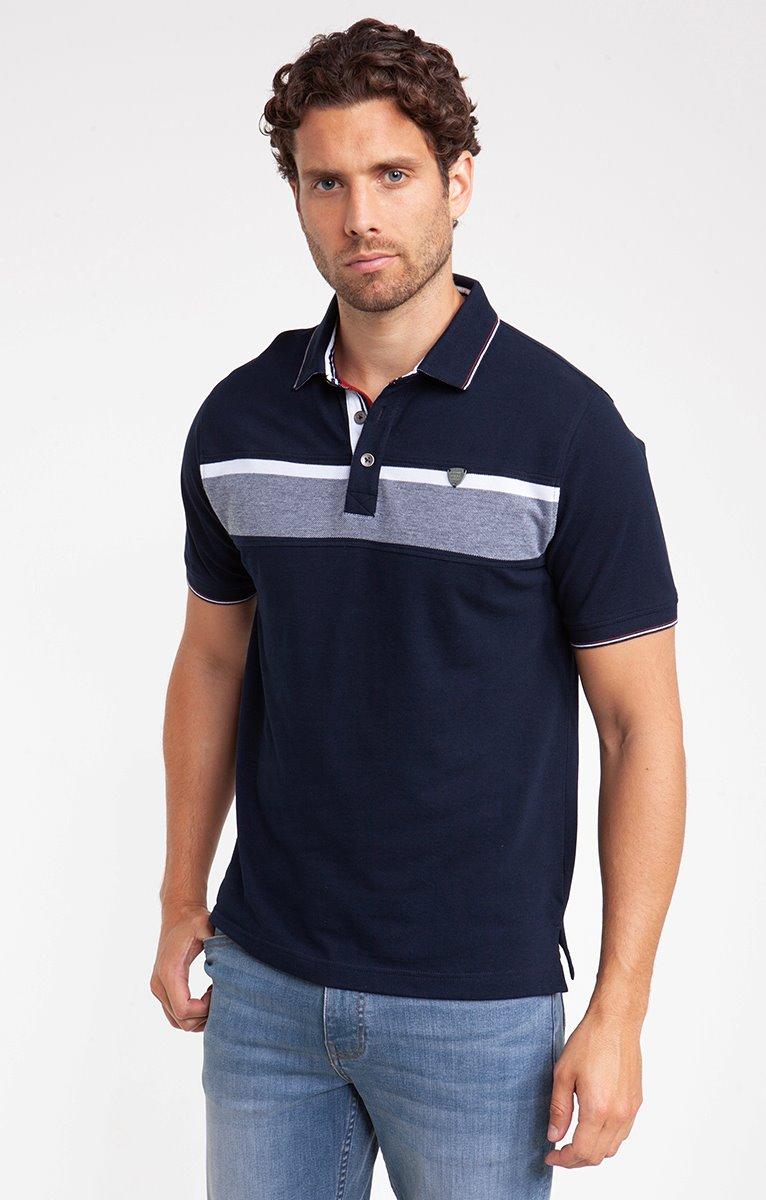 Men/'s Rayé Pique À Col Manches Courtes Polo T Shirts-summer fashion S-XL
