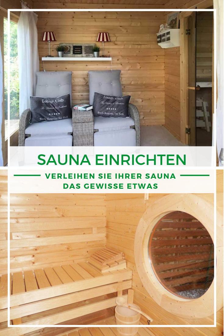 Sauna Zuhause Sauna Einrichten Gartenhaus Mit Sauna Sauna Selbst Bauen Sauna