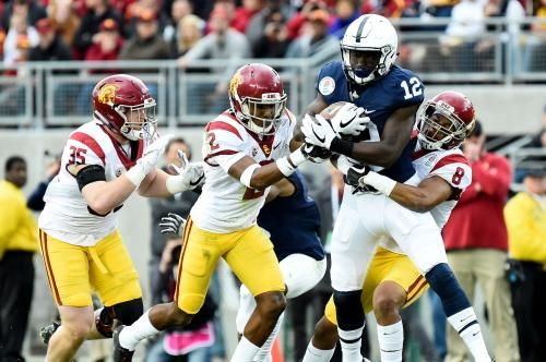 Tampa Bay Buccaneers Sign Wr Chris Godwin Complete Draft Class Penn State Nittany Lions Penn State Cameron Smith