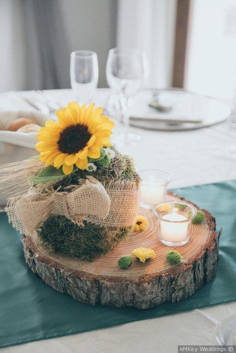 Segnaposto Matrimonio Tema Girasoli : Con girasoli: 43 idee da non farvi sfuggire! bouquet viola
