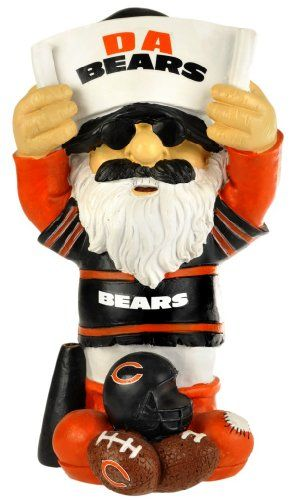 NFL Chicago Bears Thematic Gnome - 2nd Version - Forever Collectibles offers a full line of 100% officially licensed team merchandise. We offer a complete line of home décor, garden décor, novelty, apparel, tech accessories and seasonal items.  - http://ehowsuperstore.com/bestbrandsales/home-garden/nfl-chicago-bears-thematic-gnome-2nd-version