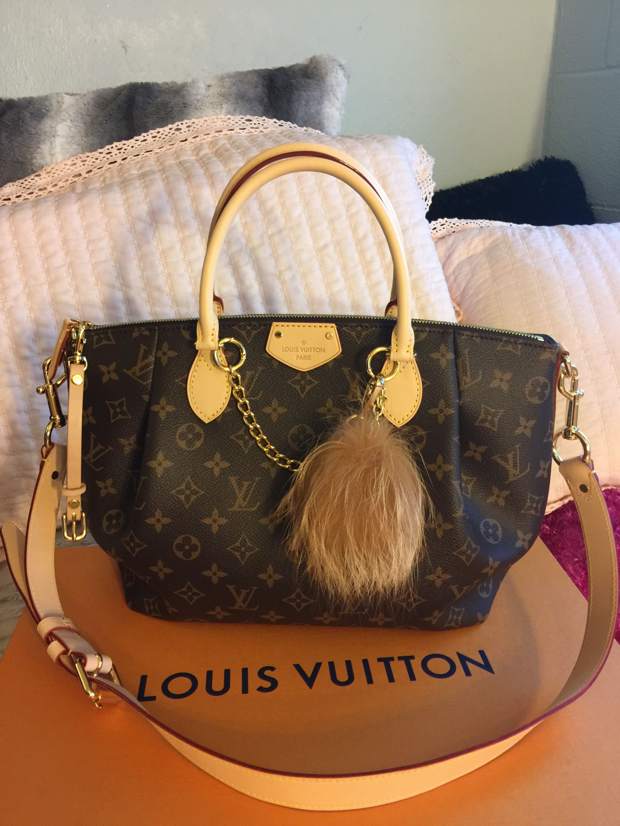Louis Vuitton Turenne MM Monogram Print   My Louis V LOVE   Louis ... e4ee3ffb27f