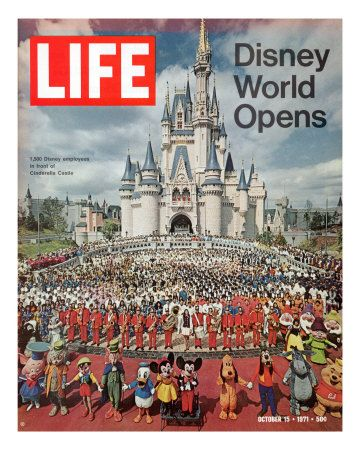 Disney World Yep I Went There Soon After It Opened You Had To Buy A