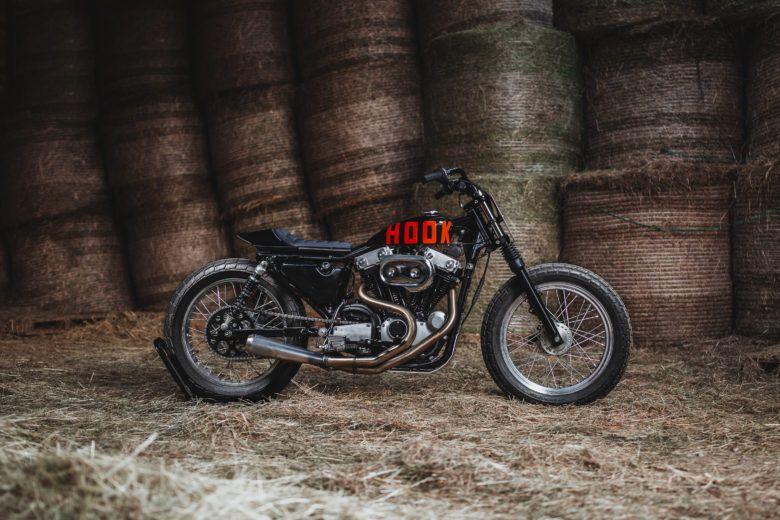 1991 Harley Davidson Sportster XLH 883 Tasmanian Devil From Hookie Co