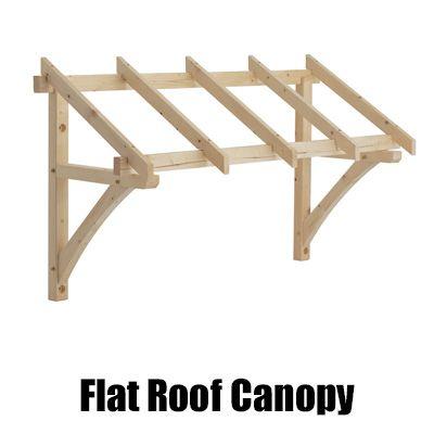 flat roof canopy new web | timber frame | Pinterest | Verandy ...