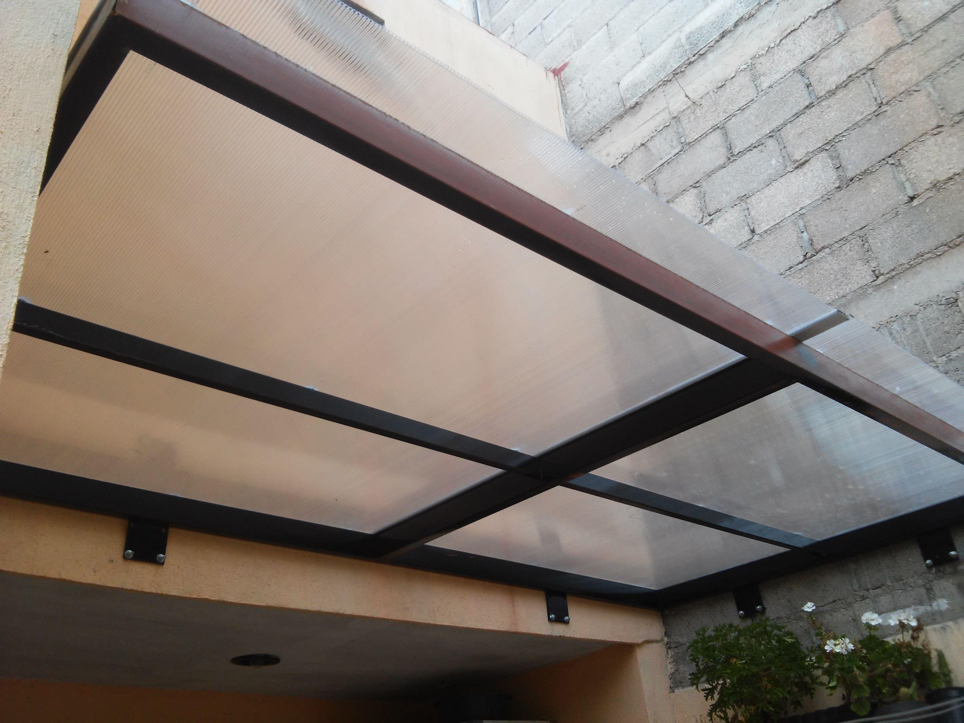Domo de policarbonato lomas del convento mis trabajos for Techo policarbonato transparente