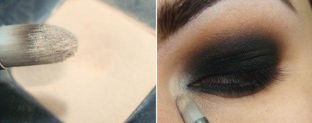 Aprenda a fazer o famoso olho preto esfumado