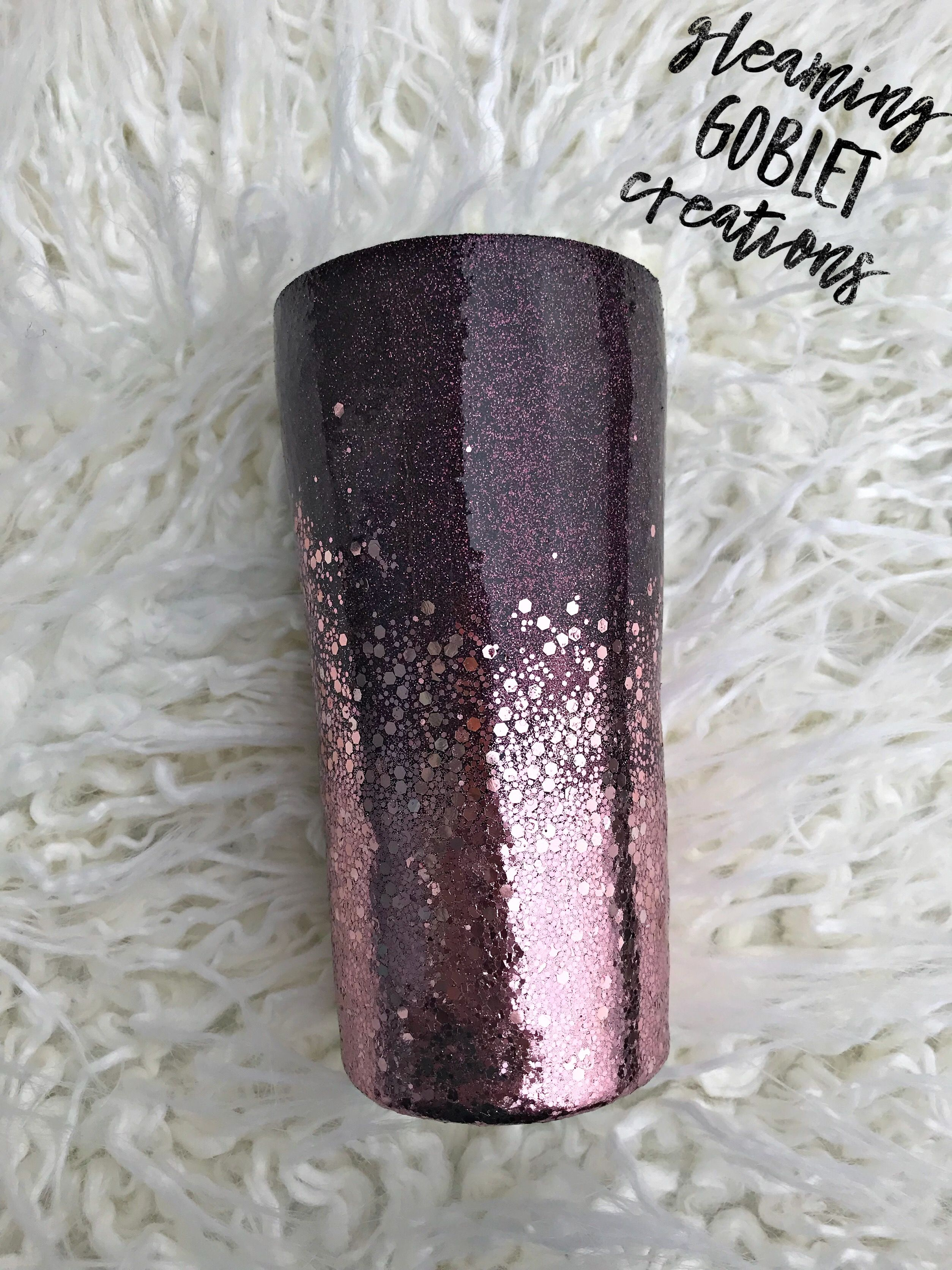 a0a53e5d407 Glitter tumbler Www.facebook.com/gleaminggobletcreations | tumblers ...