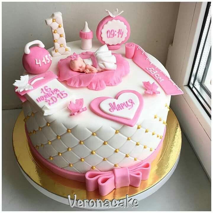 New Born Baby Girl Baby Boy Cakes Baby Girl Cakes Baby Cake Design